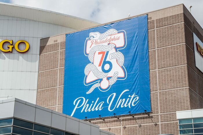 Philadelphia 76ers 2017–18 City Edition uniform and NBA Playoffs campaign 7