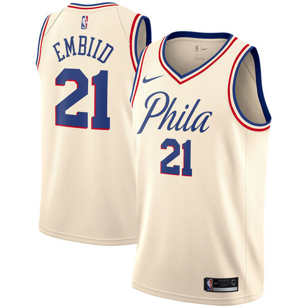 Philadelphia 76ers 2017–18 City Edition uniform and NBA Playoffs campaign 3