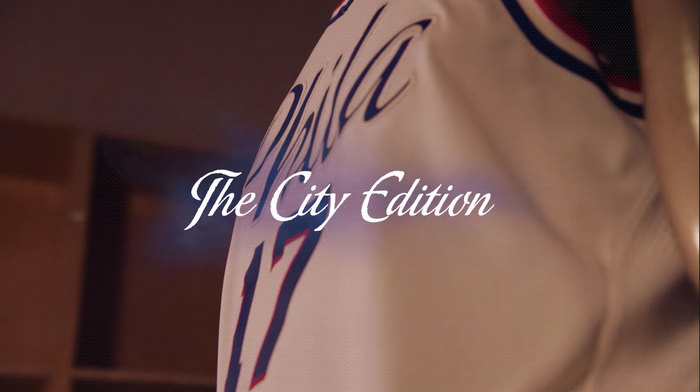 Philadelphia 76ers 2017–18 City Edition uniform and NBA Playoffs campaign 11