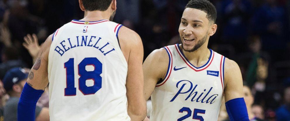 Philadelphia 76ers 2017–18 City Edition uniform and NBA Playoffs campaign 2 9b73934a5