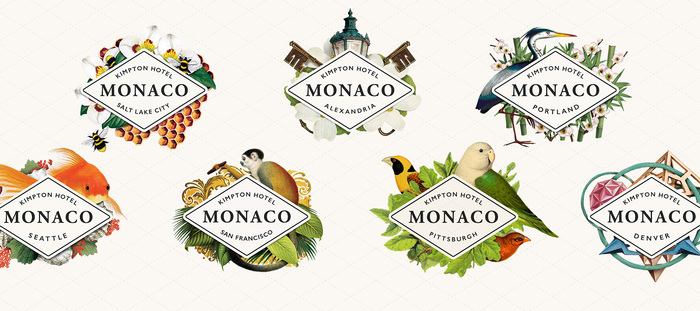 Hotel Monaco identity (2016) 1