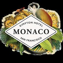 Hotel Monaco identity (2016)