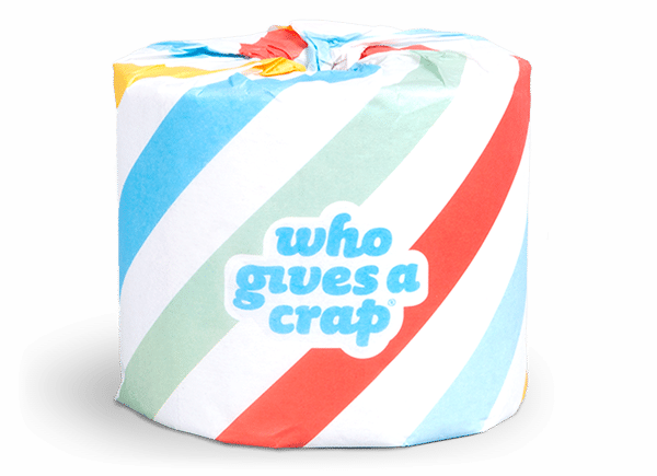 Who Gives A Crap logo and packaging (2012–) 4