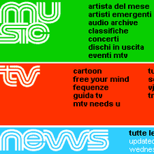 mtv.it — MTV Italy website (2003)
