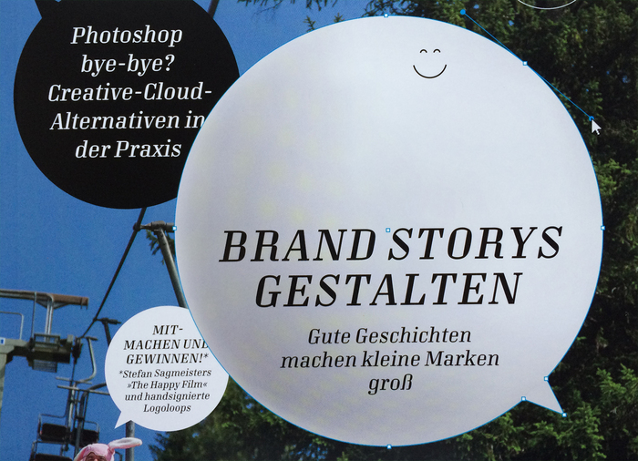 Pull quote featuring Mondial Text's guillemets (»«), the standard quotation marks used by German typographers, and an ffi ligature.