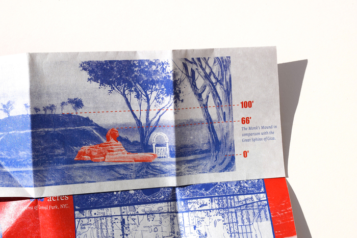 Cahokia Mounds pamphlet (fictional) 6
