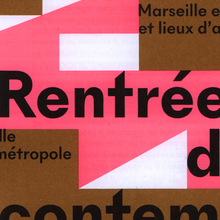 Marseille expos — Rentrée de l'art contemporain
