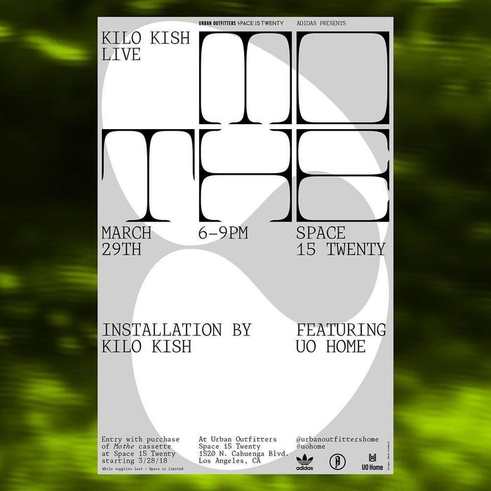 Kilo Kish — Mothe installation and poster 6