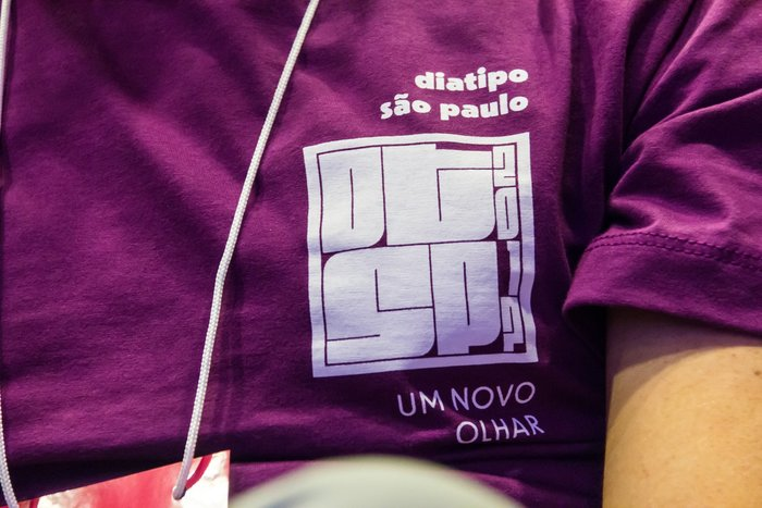 DiaTipo São Paulo 2017. T-shirt.