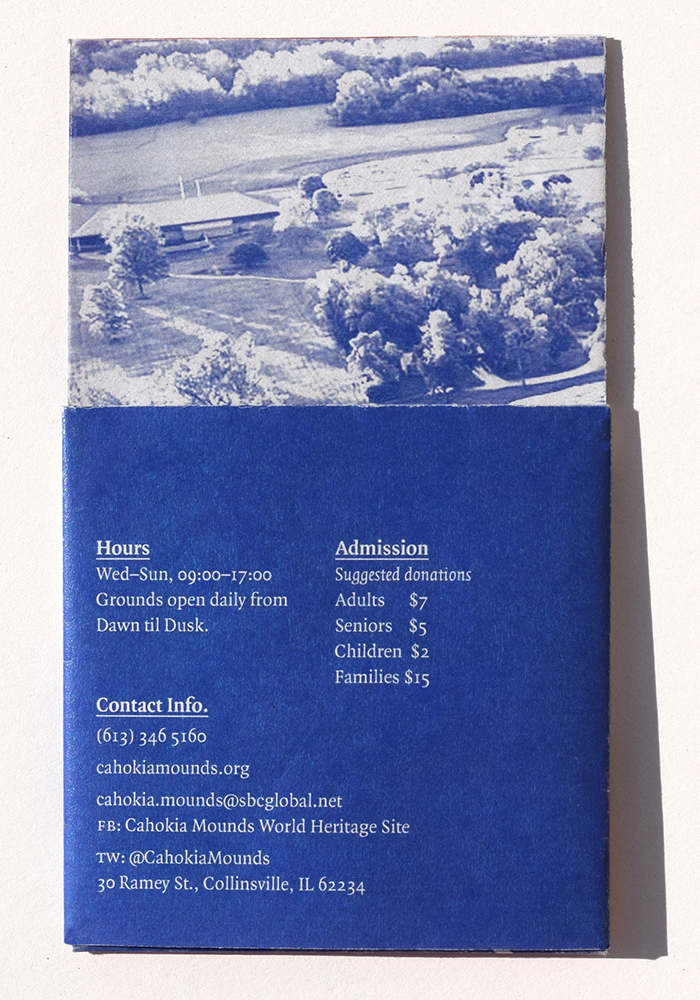 Cahokia Mounds pamphlet (fictional) 2