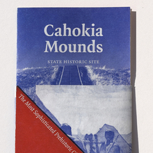 Cahokia Mounds pamphlet (fictional)