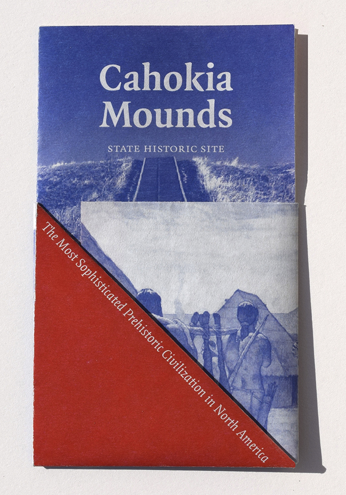 Cahokia Mounds pamphlet (fictional) 1
