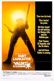 <cite>Valdez Is Coming</cite> (1971) movie logo and posters