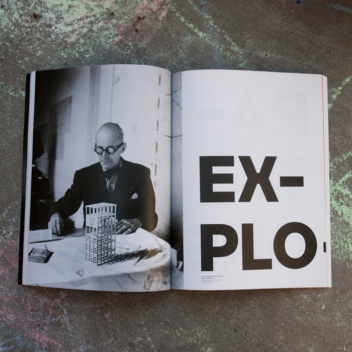 Télérama magazine, Le Corbusier special issue 2
