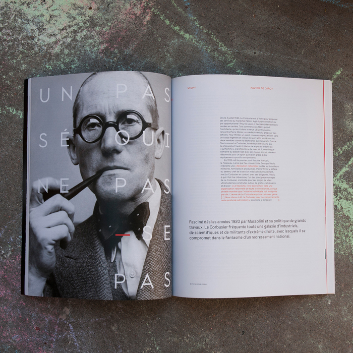 Télérama magazine, Le Corbusier special issue 4