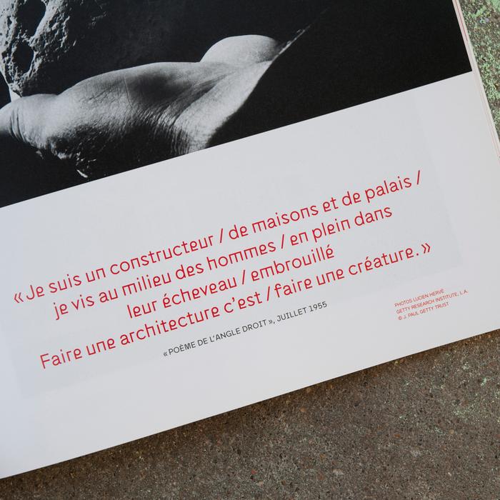 Télérama magazine, Le Corbusier special issue 5