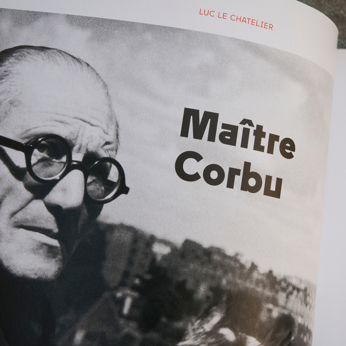 Télérama magazine, Le Corbusier special issue 6