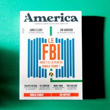 <cite>America — L'Amérique comme vous ne l'avez jamais lue</cite>, issue no. 3