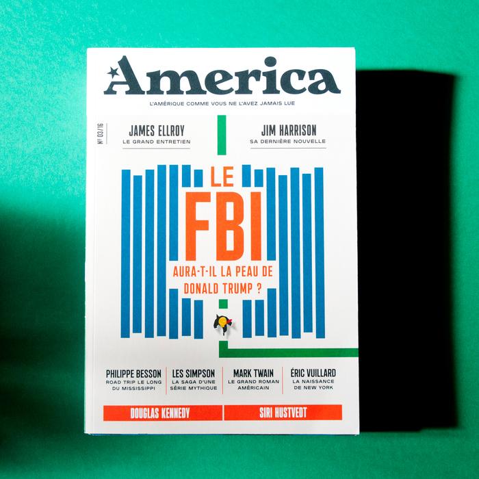 America — L'Amérique comme vous ne l'avez jamais lue, issue no. 3 1