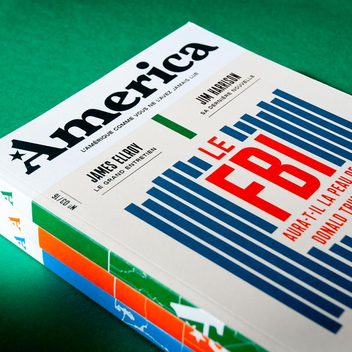 America — L'Amérique comme vous ne l'avez jamais lue, issue no. 3 2