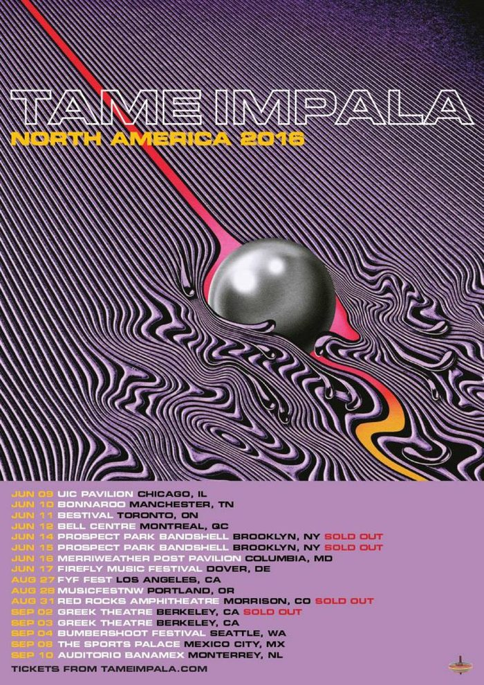Tame Impala – Currents (and singles) album art 5
