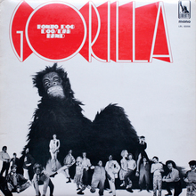 Bonzo Dog Doo-Dah Band – <cite>Gorilla</cite> album art