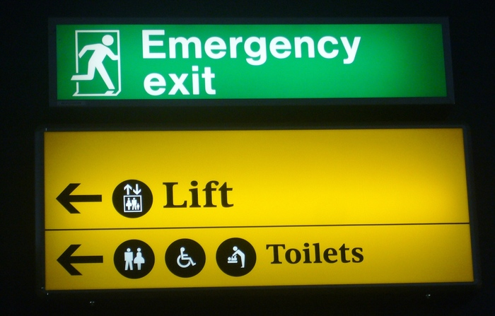 Heathrow Airport signs (2005–09) 3