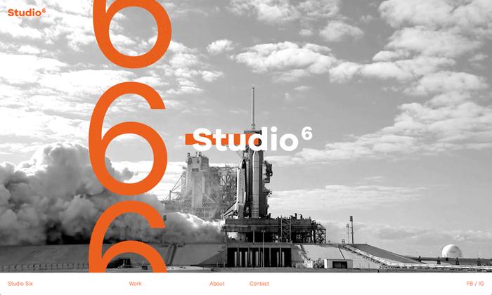 Studio Six website 1