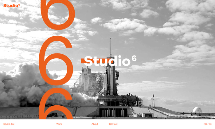 Studio Six website 1