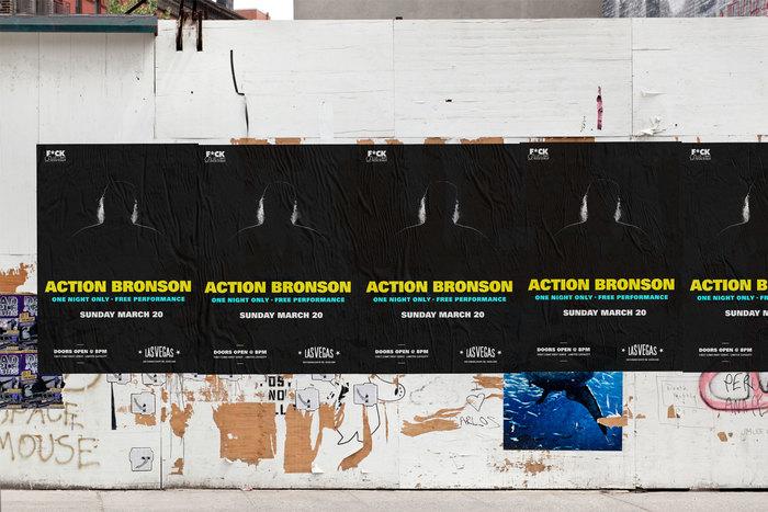 Action Bronson gig poster 3
