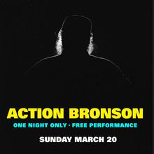 Action Bronson gig poster
