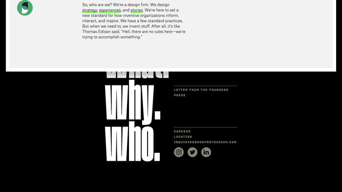 Godfrey Dadich Partners website 3