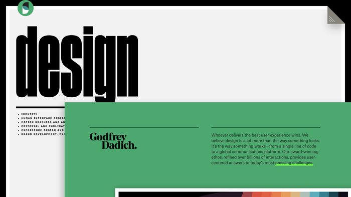Godfrey Dadich Partners website 9