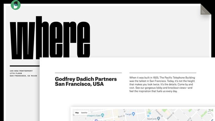 Godfrey Dadich Partners website 13