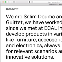 Douma Guittet website
