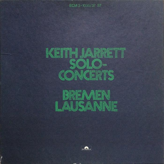 Keith Jarrett — Solo-Concerts 1
