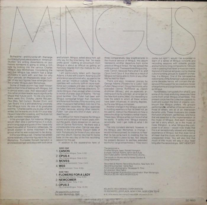 Charles Mingus — Mingus Moves 2