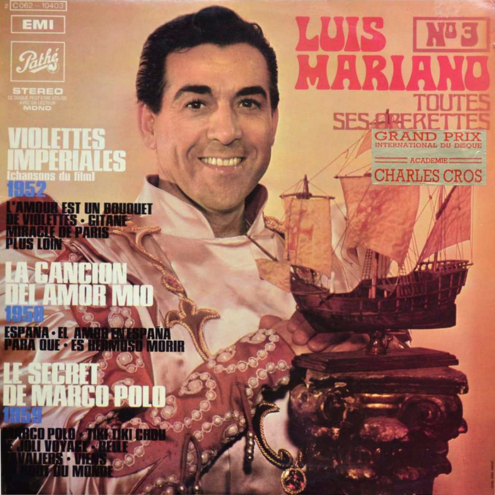 Toutes Ses Opérettes Nº1–4 – Luis Mariano 3