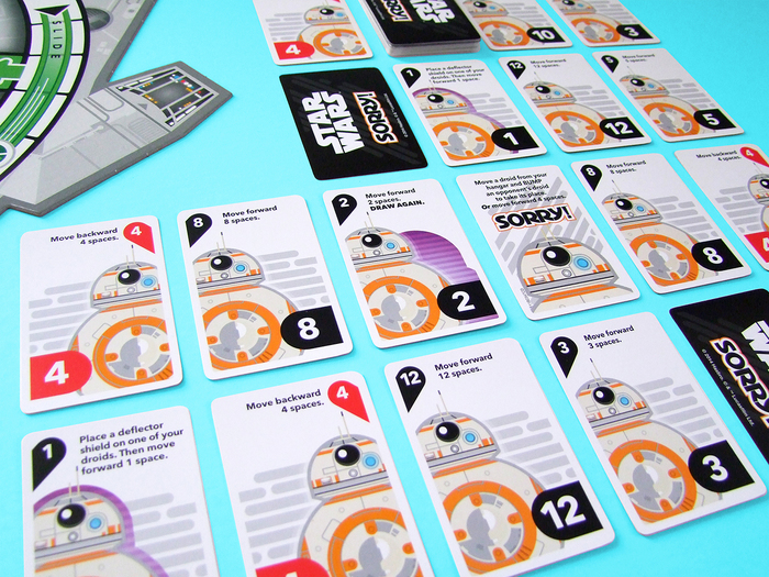 Sorry! Star Wars Millennium Falcon game board 3
