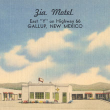 Zia Motel – Gallup, New Mexico