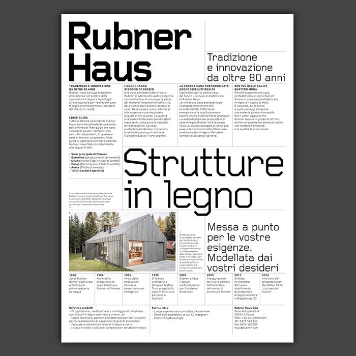 Rubner Haus posters 1