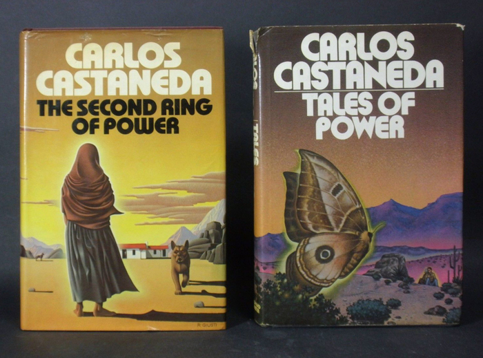 Tales of Power and The Second Ring of Power by Carlos Castaneda, Simon and Schuster 3