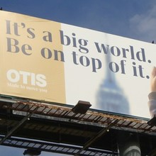 Otis Elevators global rebrand