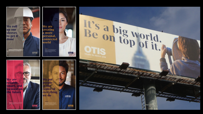 Otis Elevators global rebrand 7