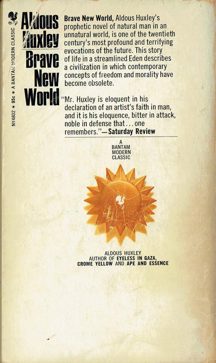 Brave New World, Bantam Books (1968) 2