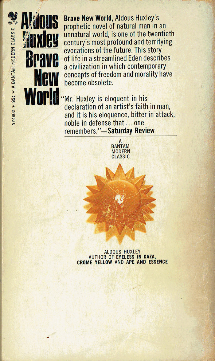 Brave New World, Bantam Books (1968) 2