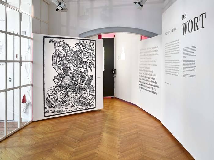 Das Wort exhibition at Strauhof 1