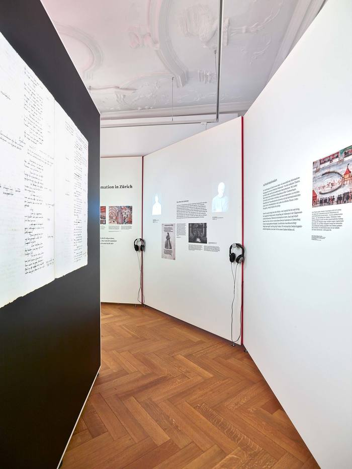 Das Wort exhibition at Strauhof 3