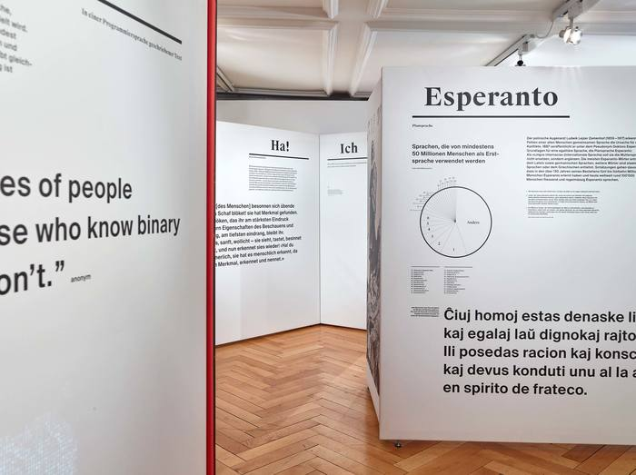 Das Wort exhibition at Strauhof 6