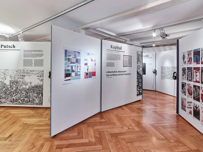 Das Wort exhibition at Strauhof 7